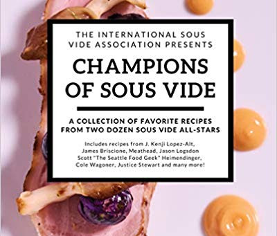 Some Really Great New Sous Vide and BBQ Books now Available!