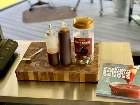 Homemade Black Garlic Sweet Heat BBQ Sauce Recipe!