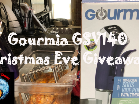 Happy Holidays! Last Minute Sous Vide Giveaway!