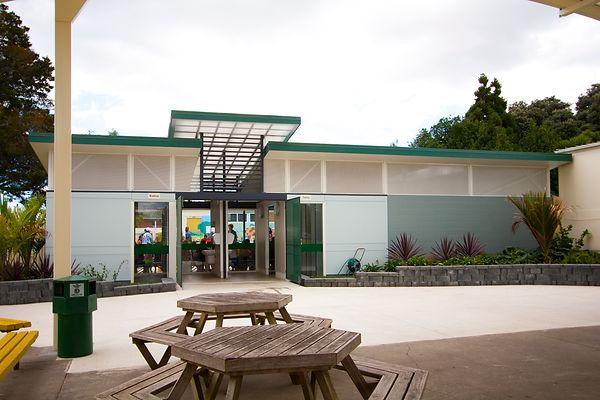 Manurewa Central School Toilet Block Exterior