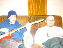 Old Dave (looking young) and Iceman