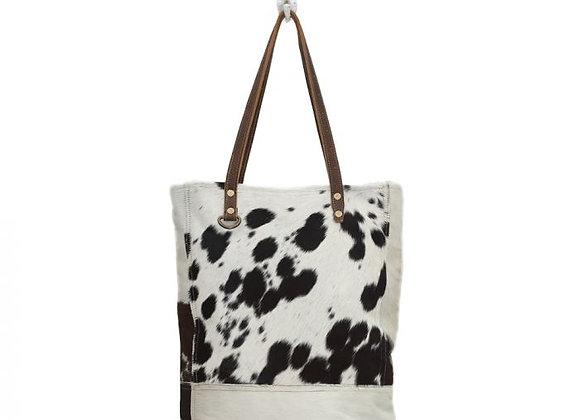 BLACK & WHITE IMPRESSION HAIRON BAG