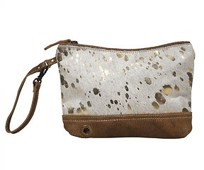 SUAVE LEATHER POUCH