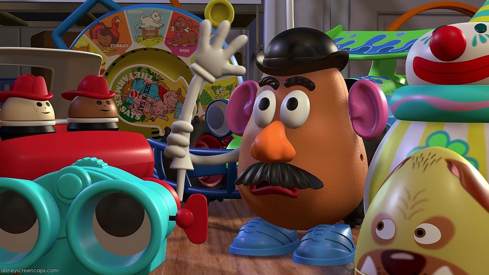 Mr. Potato Head in Toy Story