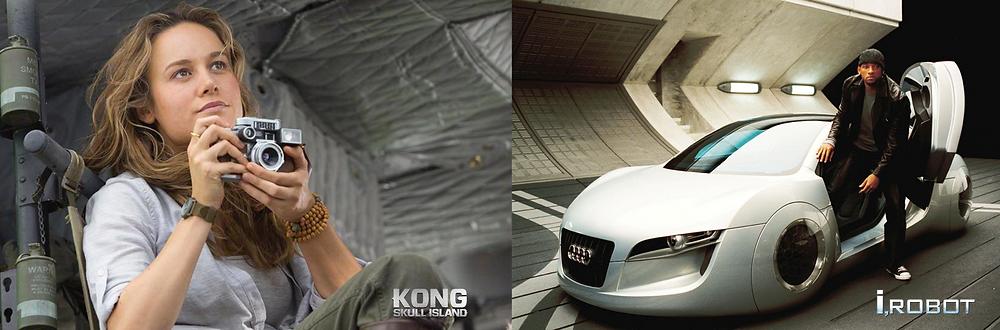 Sony i Kong: Skull Island og Audi i I, Robot