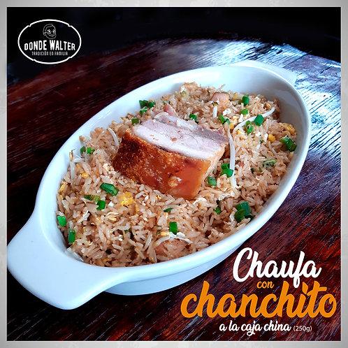 Chaufa con 1 Pieza de Chanchito en Caja China