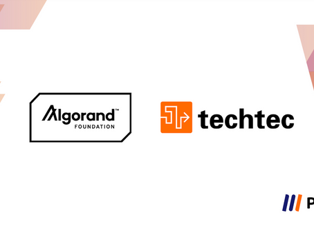 Techtec and Algorand Foundation Have Partnered to List Curriculum on PoL to Learn About Algorand