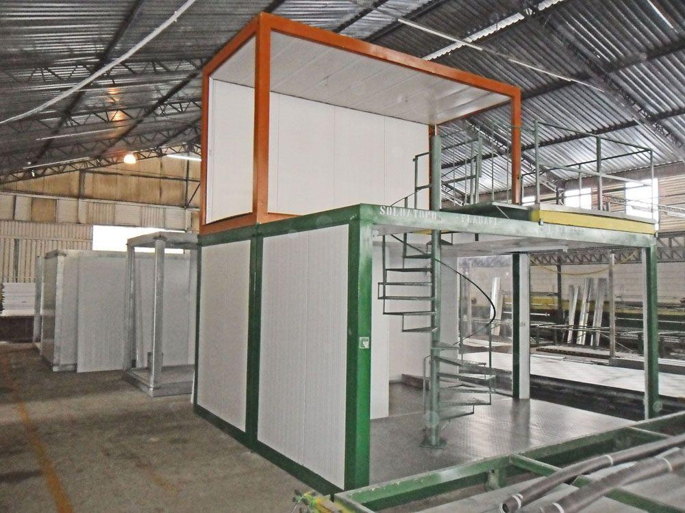 Container Estruturado Soldatopo
