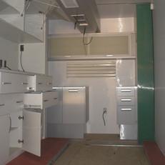 Interior customizado de Container