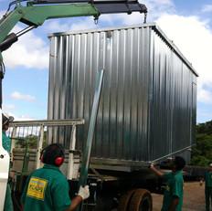 Içamento de Container