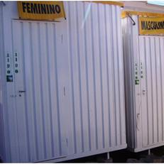 Banheiros em Container