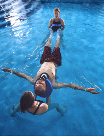 Aquatic Therapy for injuries rehabilitation