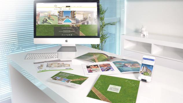 Campaña inmobiliaria