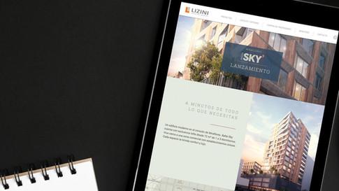Sitio web inmobiliario