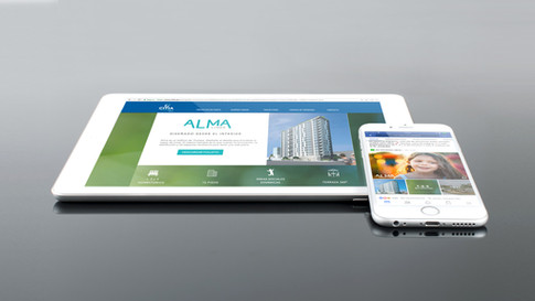 Web inmobiliaria responsive