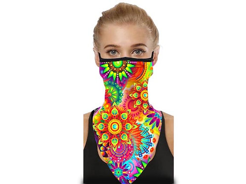 Designer Mask Scarf - Garden of BOLD