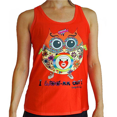 OWL-Ways Fit Active Tank (Red)