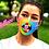 """Thumbnail: Designer Reusable Mask - """"Dorlee"""""""