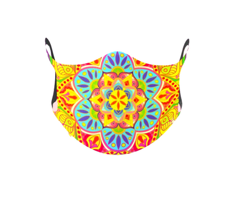 "Designer Reusable Mask - ""Maskdala"""