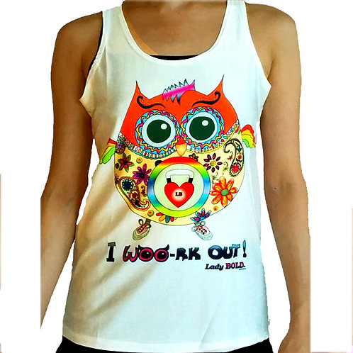 OWL-Ways Fit Active Tank (White)