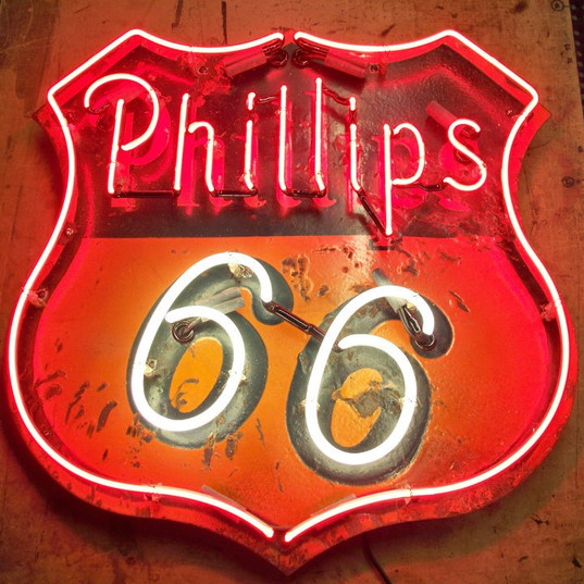 Phillips 66 Metal Sign