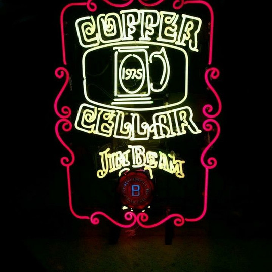 Copper Cellar Custom Sign