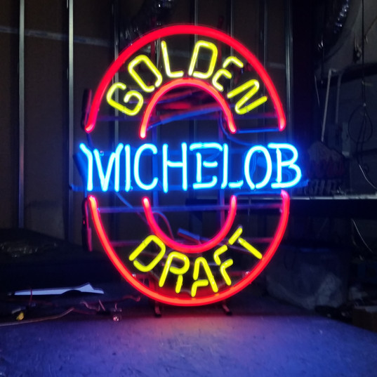 Michelob Beer Sign