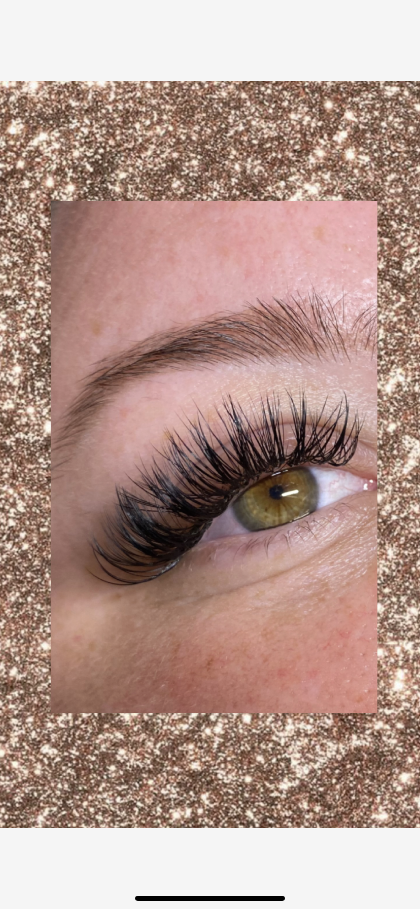 Beautiful Volume eyelash extensions