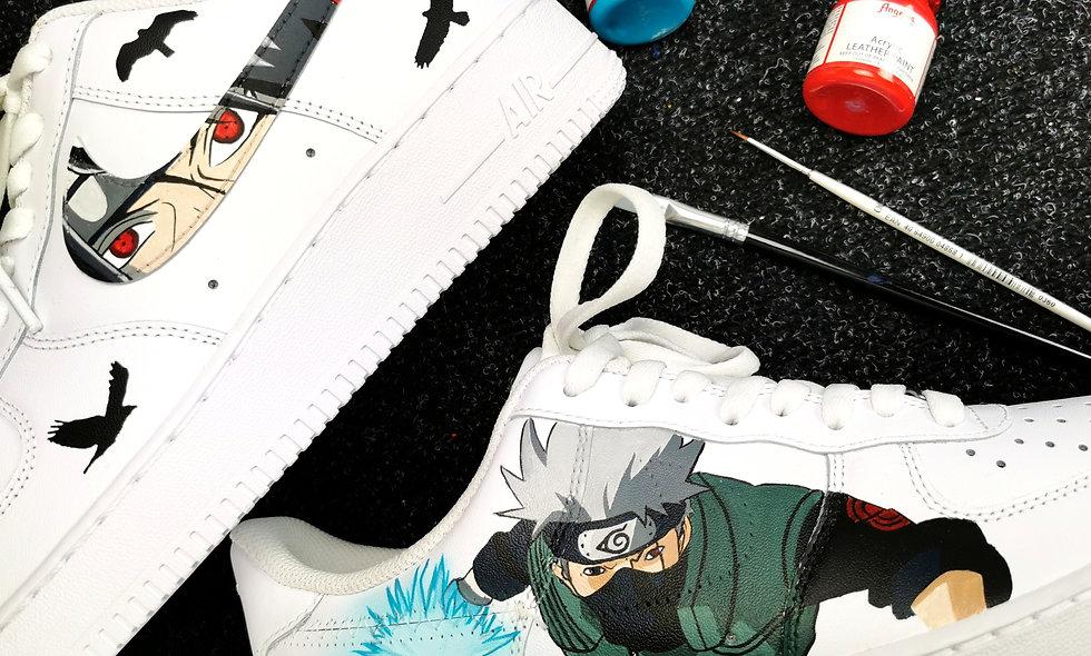Air Force 1 Naruto custom