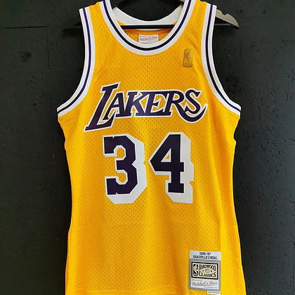 Lakers Swingman jersey Mitchell and Ness