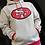 Thumbnail: 49ers Pinnacle Mitchell & Ness Hoodie