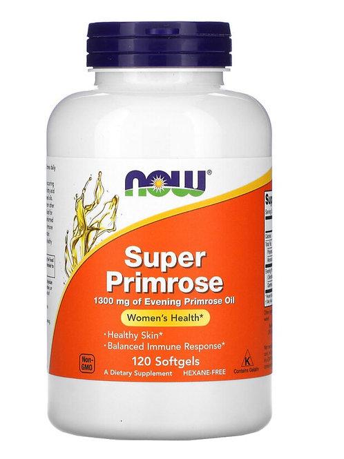 Super Primrose (1300mg) - 120 softgels