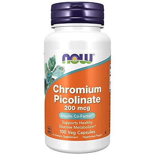 Chromium Picolinate (200mcg) - 100 vcaps