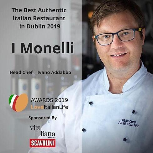 Imonelli authentic italian restaurant in