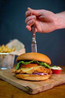 Chicken Ruby Burger