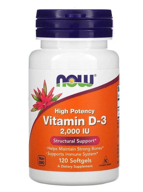 Vitamin D-3 (2000 IU)