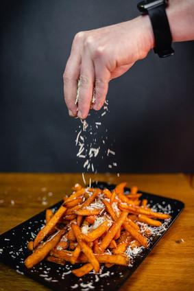 Sweet Potato with Parmesan