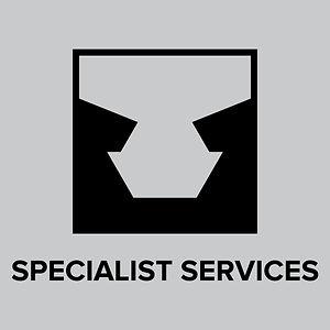 Click specialist services button