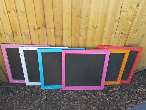 2ft x 2ft outdoor chalkboard