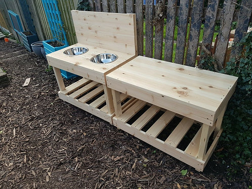 1.8m double section mud kitchen