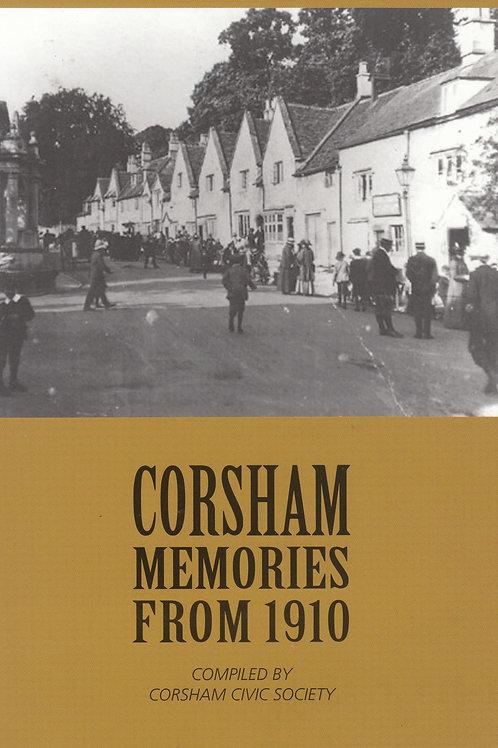 Corsham Memories from 1910