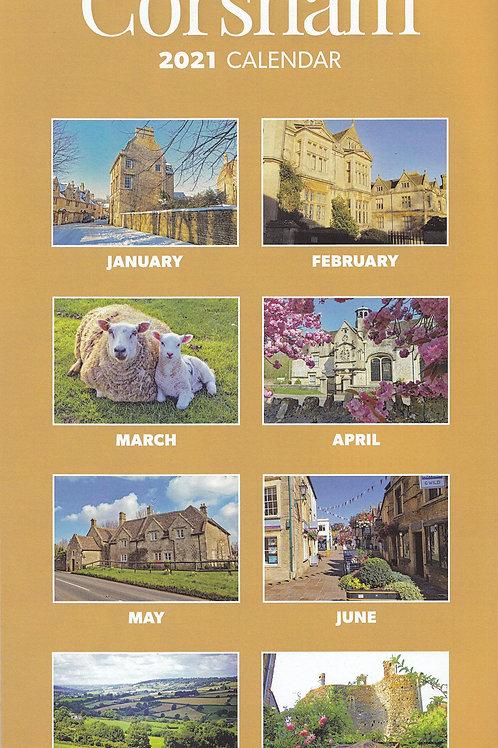 Corsham 2021 Calendar (Slim)