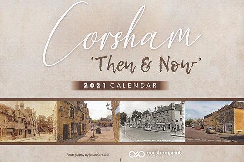 Corsham Then & Now Calendar 2021