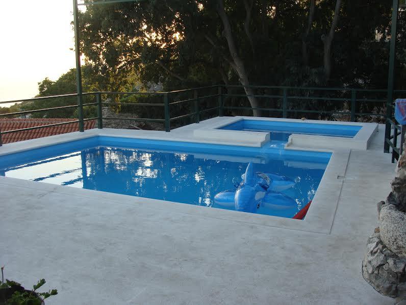 izgradnja bazena<br>