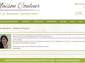 Maison Couleur heeft een nieuwe website!