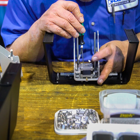 Parts assembly and value-added services adds to our suite of services at Progressive Machining Inc, Waterloo, Ontario.