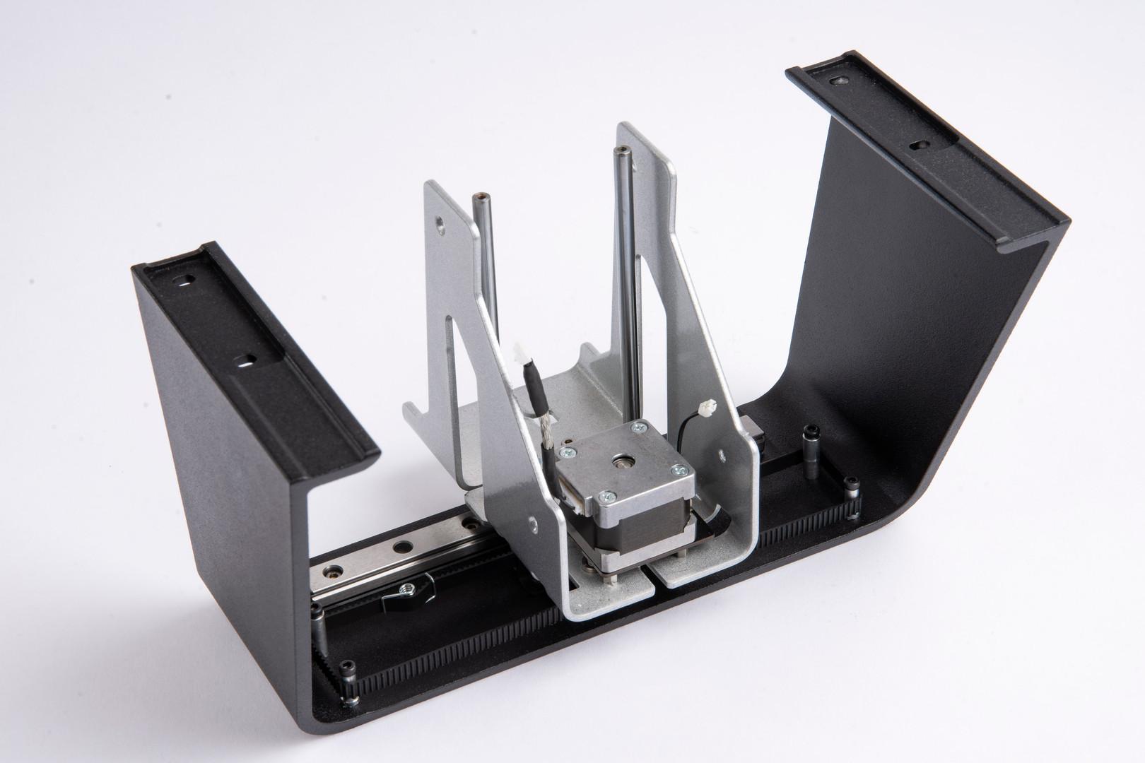 Assembled part by Progressive Machining