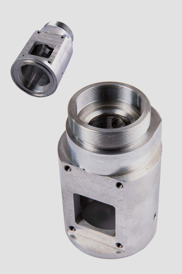 Another precision machined metal part from Progressive Machining Inc in Ontario, Canada