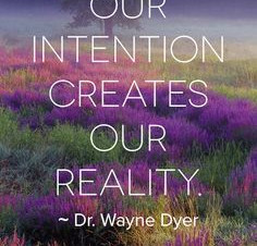 What's Your Intention?