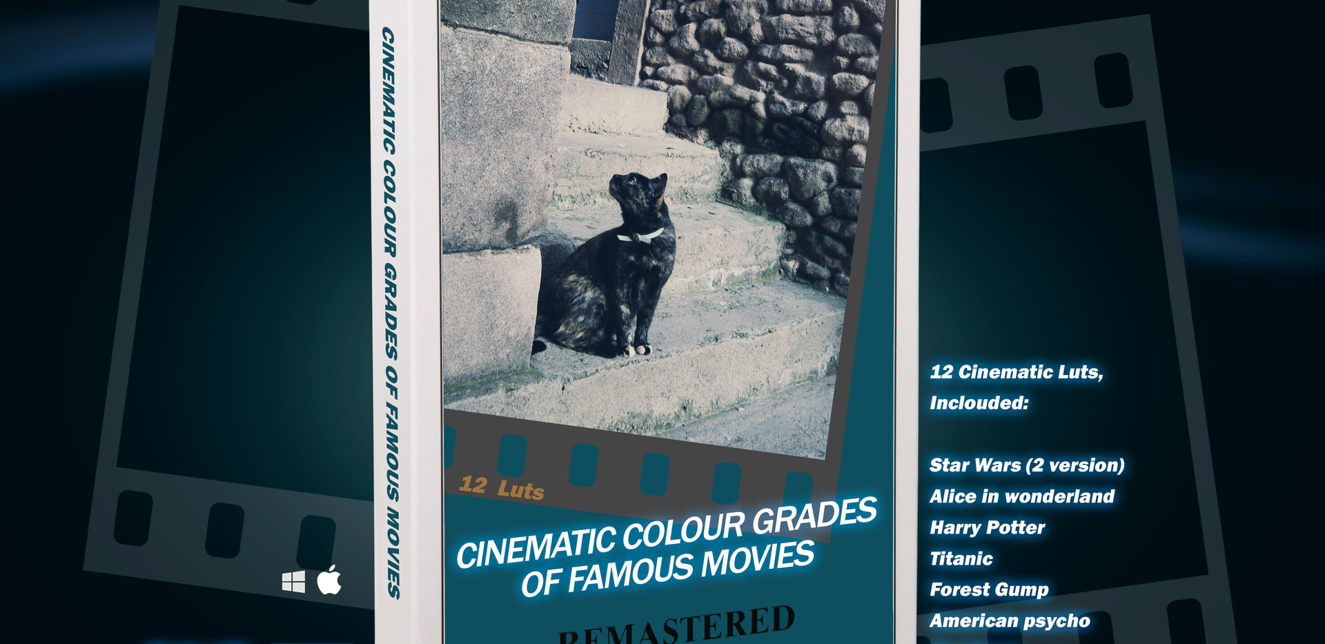 Cinematic colour grades of famous movies